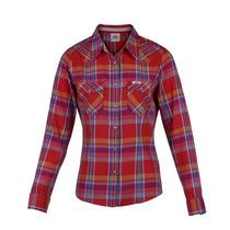 Camisa Lee Beverly Western Mujer Rojo (10425818755501)