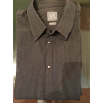 Camisa Hombre Armani Exchange Original ! Impecable!!