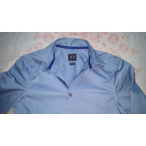 Camisa Armani Manga Larga!!!