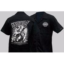Camisas Lucky 13/ King Kerosin Talle Xl