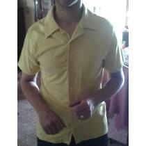 Camisa De Hombre Manga Corta - Marca Ona Saenz