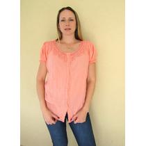 Camisa Mujer Blusa Casaca Hindú Talles Grandes Mythos