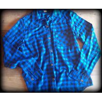 Camisa Escocesa/cuadrille/leñadora/mujer/azul/roja/blanca/ne