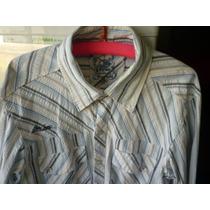 Camisa M/l Stone Excelente!!!!!!!!! Talle Xl