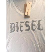 Remera Tshirt Diesel Mujer Nueva Coleccion Original Importad