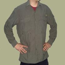 Camisa Safari Trekking Secado Rapido Simil Columbia Respira