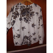 Blusa/camisola M/larga Bello Estamp.-hombros 40 Cm-impecable