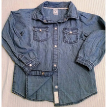 Camisa De Jean Carter´s Talle 5t *importada De Usa* Nueva