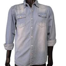 Camisa De Jean De Hombre - Excelente Calidad