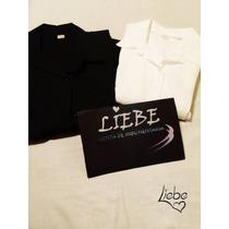 Camisa Negra Y Blanca. Liebe