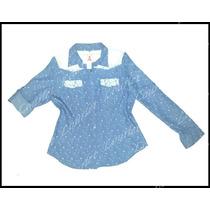 Camisa Jean Fino