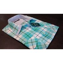 Camisa Hombre Semi Entallada Combinadas Be Your Self