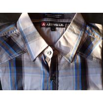 Camisa Airwalk A Cuadros - Unicas - Large -