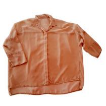 Camisola Informal Camisa Verano Comoda Gasa Transparente