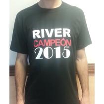 Remera River Plate Campeon Copa Libertadores 2015