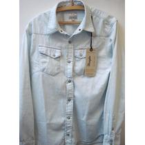 Camisas De Jean Wrangler Super Rebajadas 100% Originales!!