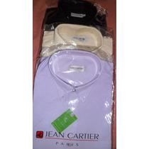 Camisa Jean Cartier M/corta .t 46/48/52/54 Zona Belgrano
