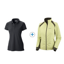 Combo Columbia Chomba Innisfree Campera Softshell Tectonic