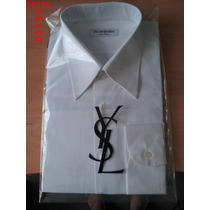 Camisas Hombre Yves Saint Laurent Talles Varios