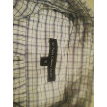 Camisa Paula Cahen Danvers Niño Talle 10 Blanca Cuadrille