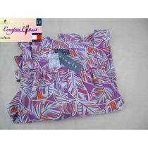 Camisa Ninety Mujer Xxxl,crepe George Etiqueta Original