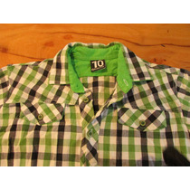 Combo Camisa Grisino T 10 Hermosaa Y Solo Tres Usos!+remera