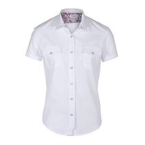 Camisa Wrangler New Western Girl M/c Mujer (05440417370201)