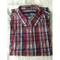 Camisa Tommy Hilfiger Xl Manga Larga - Nueva - Importada Usa