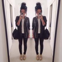 Camisa Jean Negra Clasica