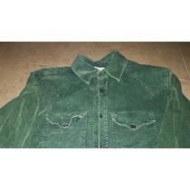 Camisa Oldbridge Corderoy Verde