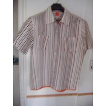 Camisa Hugo Boss Rayada