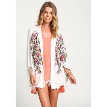Kimono Importado...divino.... Ideal Verano.ultima Moda