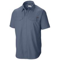 Camisa Columbia Silver Ridge Protección Solar Upf 50 Hombre