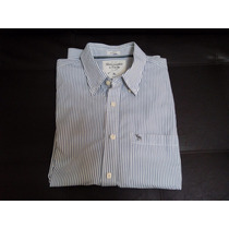 Camisa Original Abercrombie & Fitch Slimmuscle Fit Hollister