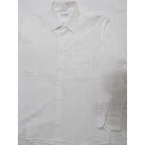 Camisa Blanca De Vestir Aristos T/42 Nueva