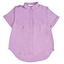 Camisa Mangas Cortas Cargo Con Doble Bolsillo Drole