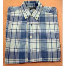 Camisa Marca Basic Equipement De Hombre A Cuadros Manga Cort