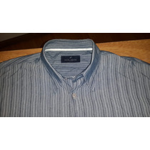 Camisa Daniel Hechter - Talle L - Color Gris - Muy Buena !!