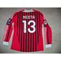 Ac Milan Italia Camiseta Adidas Formotion Utileria #13 Nesta