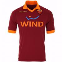 Camiseta A.c Roma Titular Kappa 2012/2013 Tela Elastizada