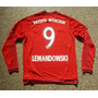 Camiseta Manga Larga Bayern Munich 2015 2016 Lewandowski