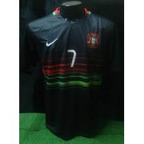 Camiseta Portugal 2016 Euro Cristiano #7