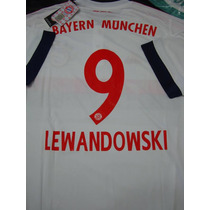 Camiseta Bayern Munich #9 Robert Lewandowski