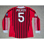 Ac Milan Italia Camiseta Adidas Formotion Utileria #5 Mexes