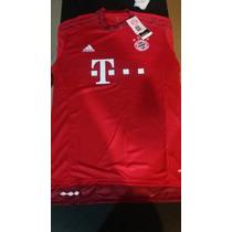 Camiseta Titular Bayer Munich 2016 Nueva Excelente
