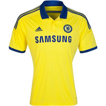 Camiseta Chelsea F.c. Mod. Suplente Amarillo 2015