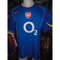 Camiseta Fútbol Arsenal Inglaterra Nike 2004 2005 Pires #7