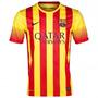 Barcelona Suplente Cataluña Nike Dri Fit 2014 Nuevas