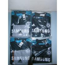 Camiseta Chelsea Suplente 2015 Negra Y Azul