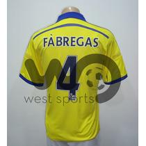 Camiseta Chelsea Suplente Amarilla 2014/2015 Fabregas Nº 4